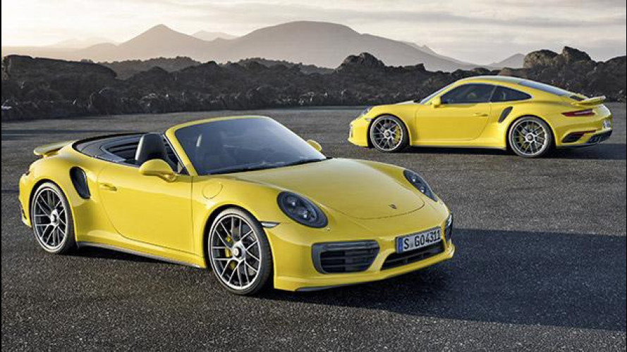 Nuova Porsche 911 Turbo e Turbo S, al limite dei 580 CV