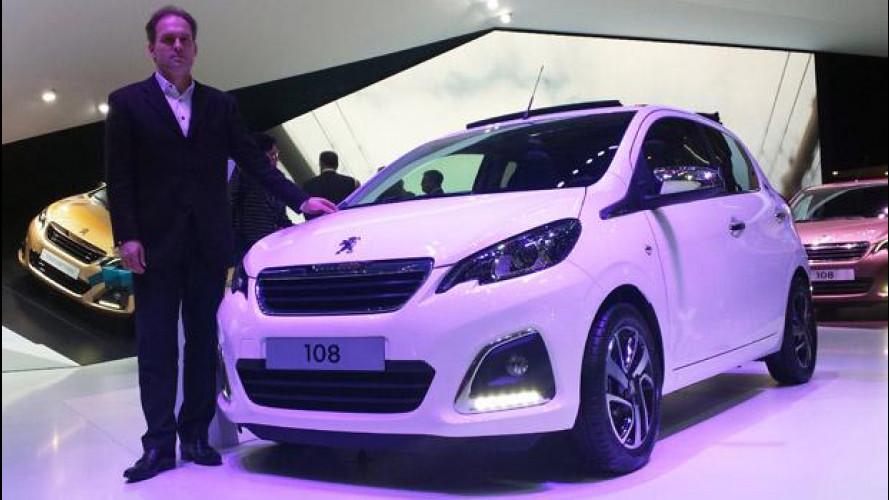 "Peugeot 108, una ""Baby-Lion"" al Salone di Ginevra"