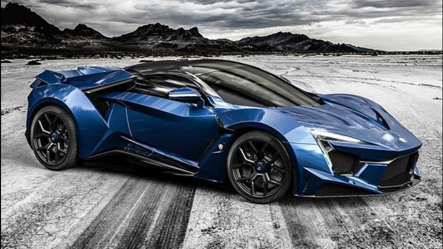 W Motors Fenyr SuperSport, da Dubai con furore