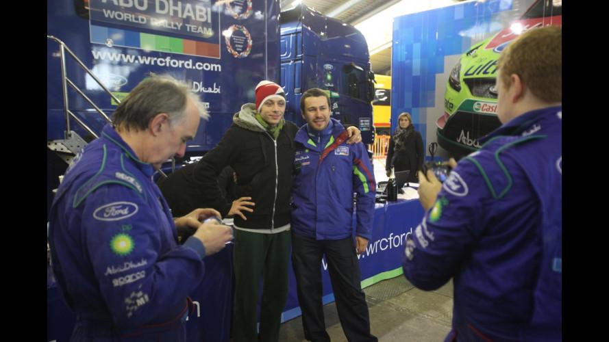 Memorial Bettega: Rossi eliminato nelle qualificazioni