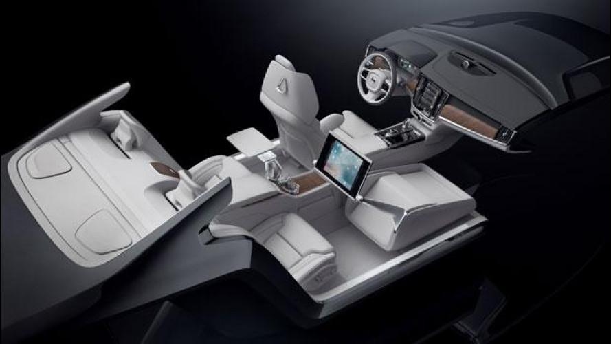 Volvo Lounge Console, un nuovo concept di confort