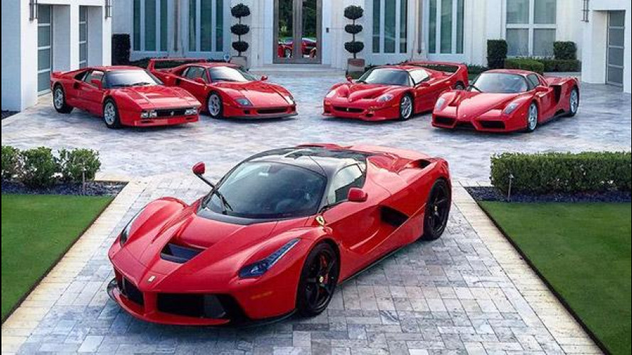 """Ferrari, """"scala reale"""" di hypercar per il golfista Ian Poulter"""