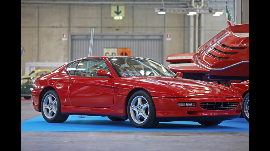 Il motoscafo Ferrari a Verona Legend Cars
