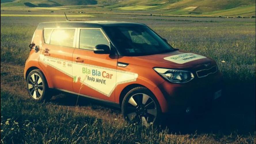 BlaBlaCar diventa una web serie con Kia