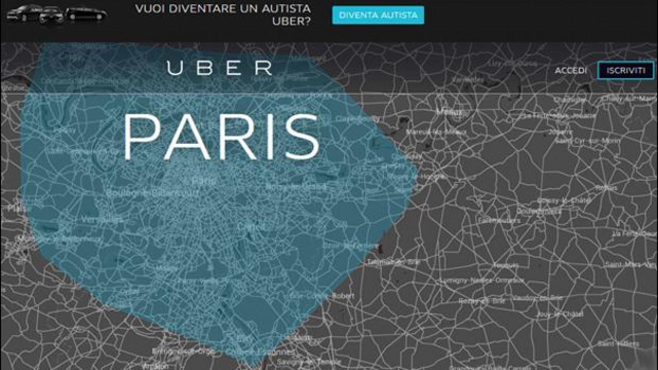 [Copertina] - Uber, in Francia deve versare 1,2 milioni di euro ai tassisti