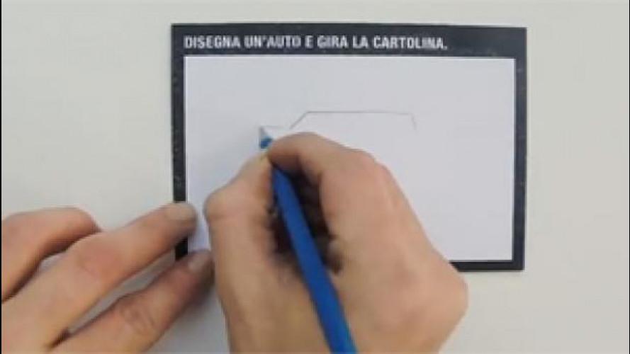 E voi sapete davvero disegnare un'auto?