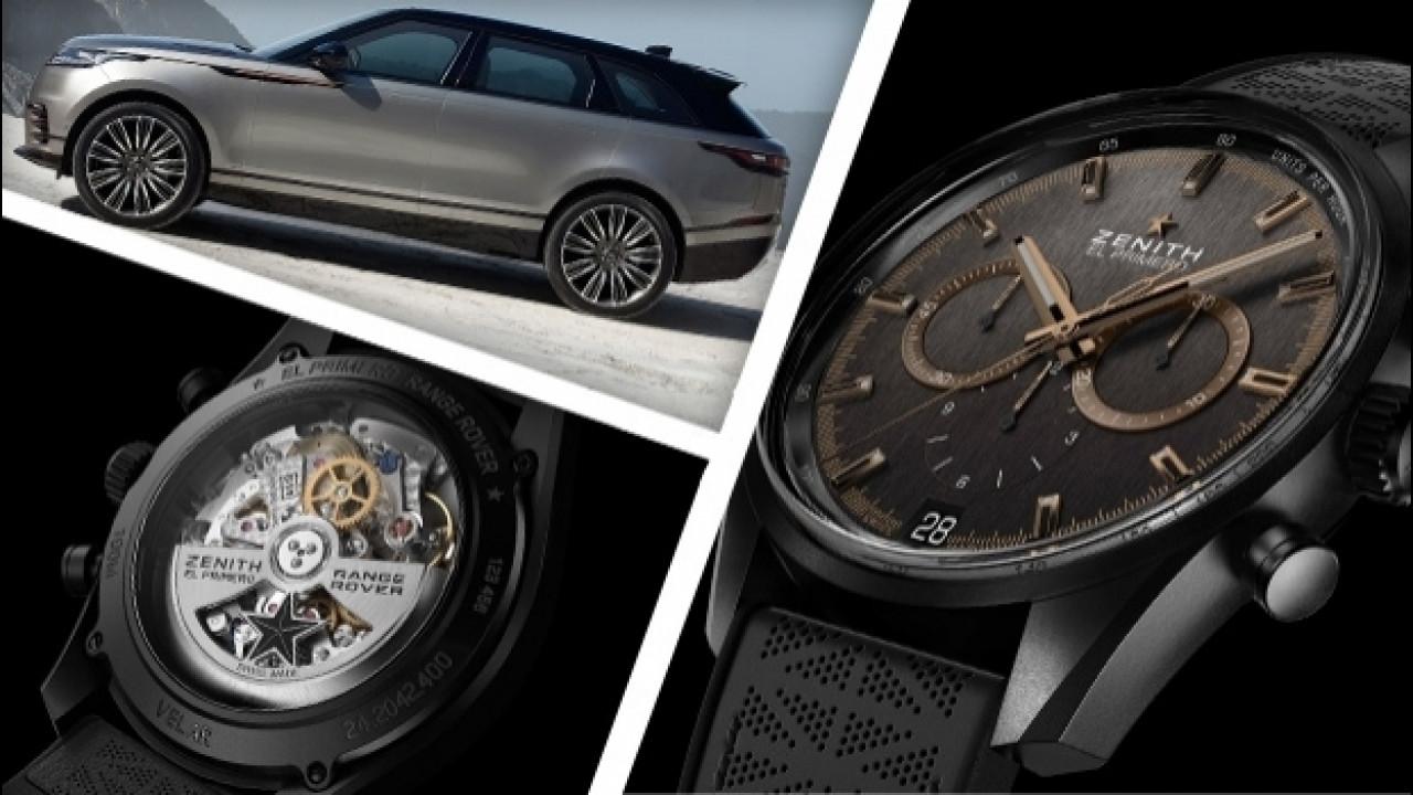 [Copertina] - Range Rover Velar ispira il cronografo Zenith El Primero