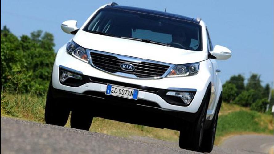 Kia Sportage, SUV compatta d'occasione