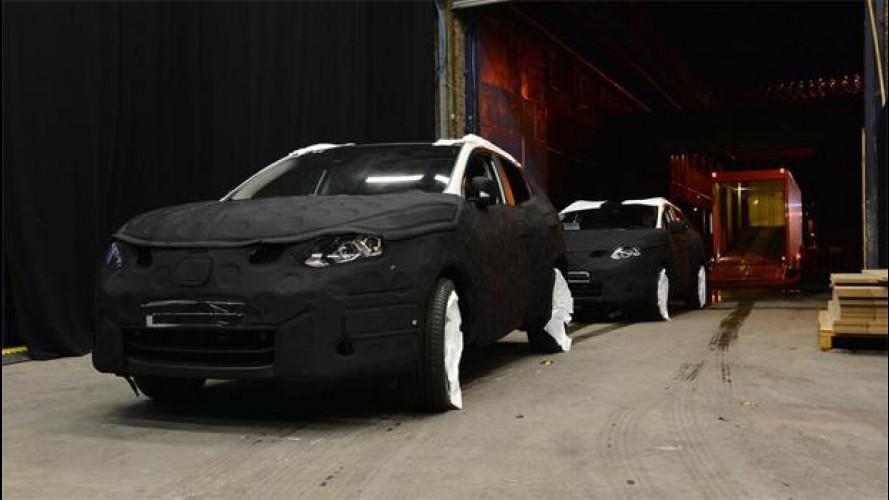 Nuova Nissan Qashqai, ci siamo quasi… [VIDEO]