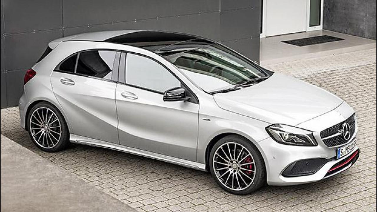 [Copertina] - Mercedes Classe A, un restyling in punta di LED