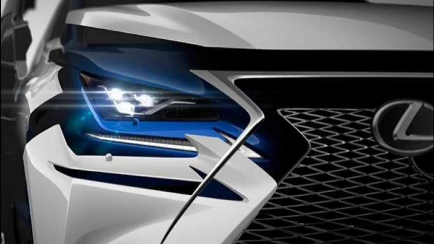 Lexus NX, è già tempo di restyling