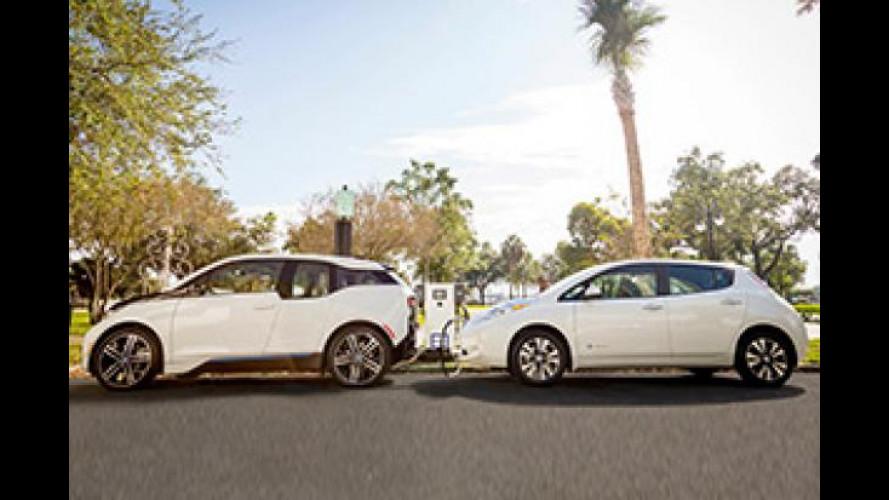 Nissan e BMW insieme per la ricarica rapida negli USA