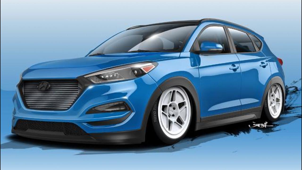 [Copertina] - Hyundai Tucson, per il SEMA ha 700 CV