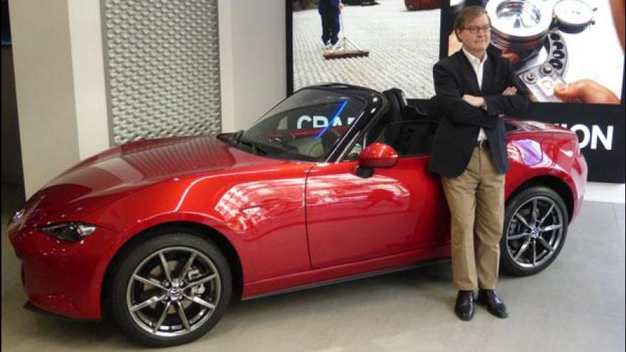 """Mazda: """"I nostri motori saranno ecologici come un elettrico"""""""