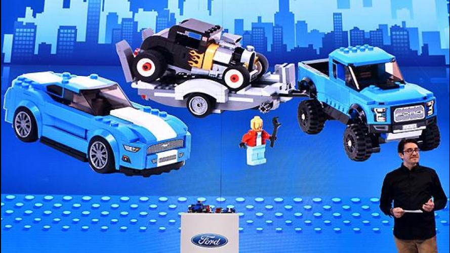Ford Mustang, ora si costruisce con i mattoncini LEGO