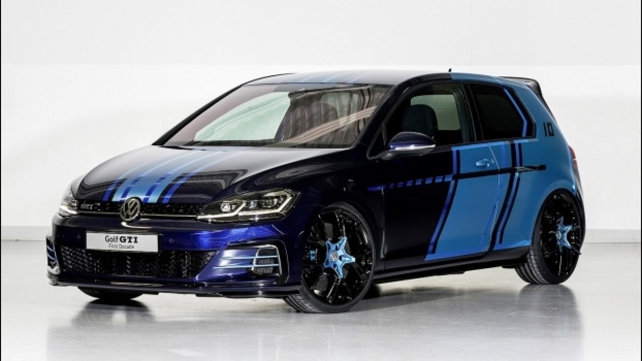[Copertina] - Volkswagen Golf GTI First Decade, un concept per il Woerthersee 2017