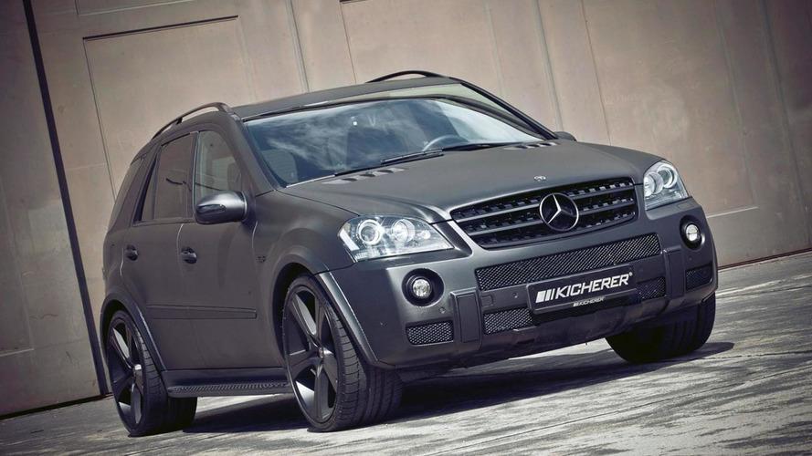Mercedes ML63 AMG Carbon by Kicherer