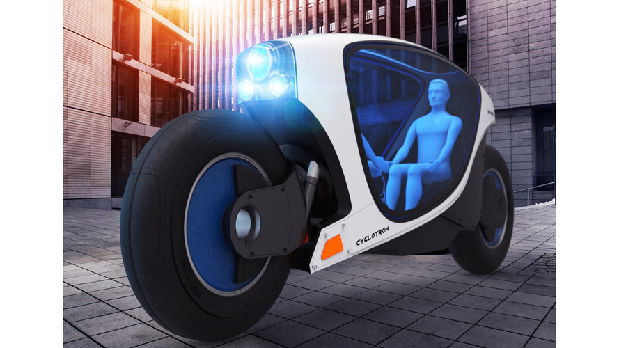 A self-driving motorcycle?
