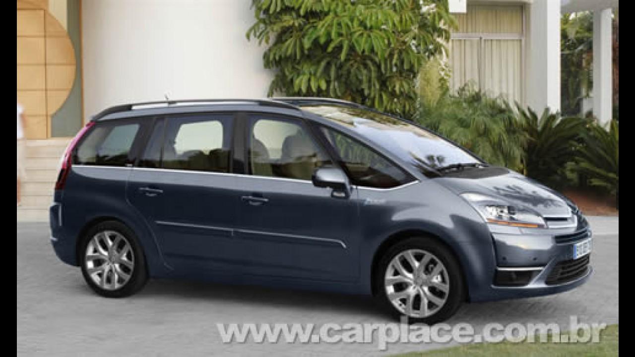 Citroën: Grand C4 Picasso chega em abril - Modelo deve custar R$ 90 mil