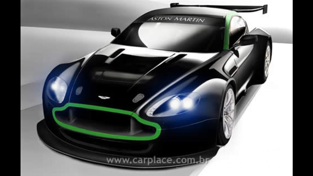 Aston Martin apresenta Vantage GT2 que pode ser abastecido com álcool!!