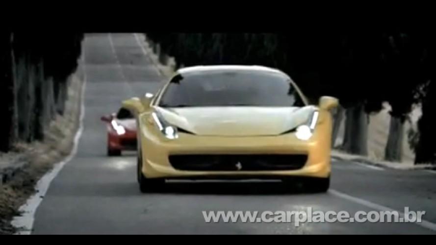 VÍDEO: Ferrari mostra como foi feito o vídeo de divulgação da 458 Italia