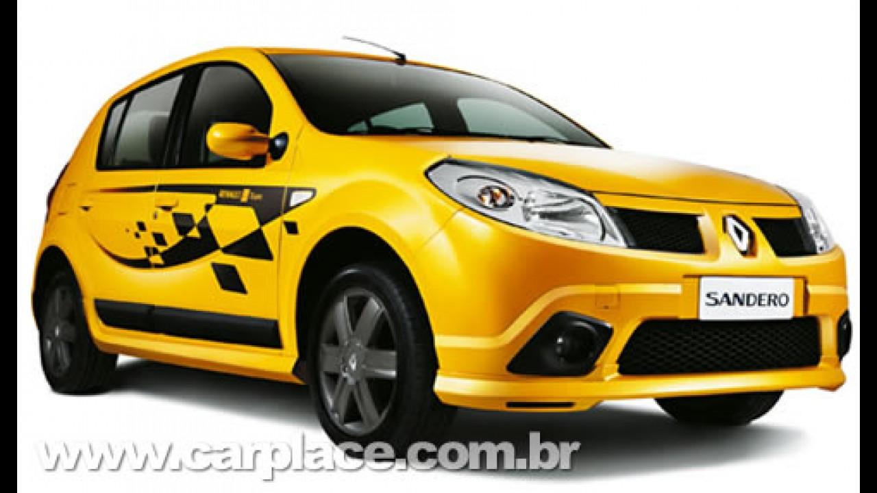 Renault Sandero F1 Team - Série exclusiva tem visual inspirado na F1