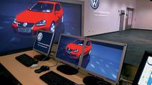 Visualization center, Powerwall featuring Golf GTI
