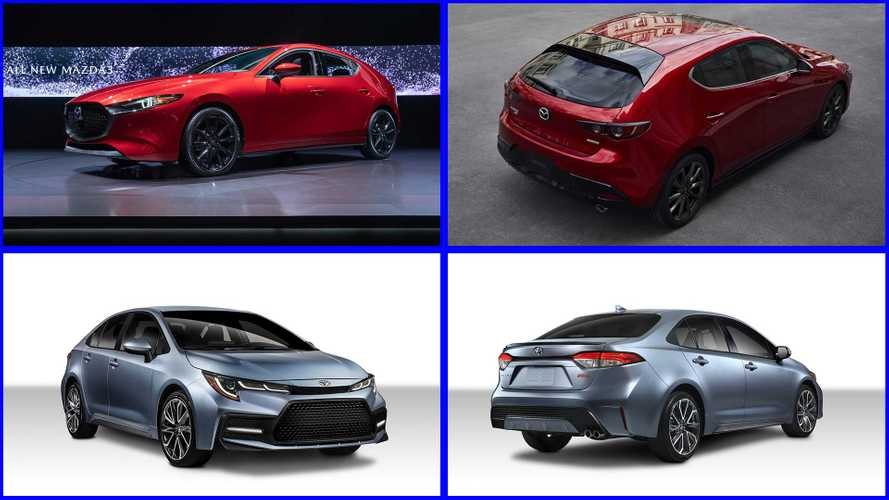2020 Toyota Corolla Versus 2019 Mazda Mazda3: How Do They Compare