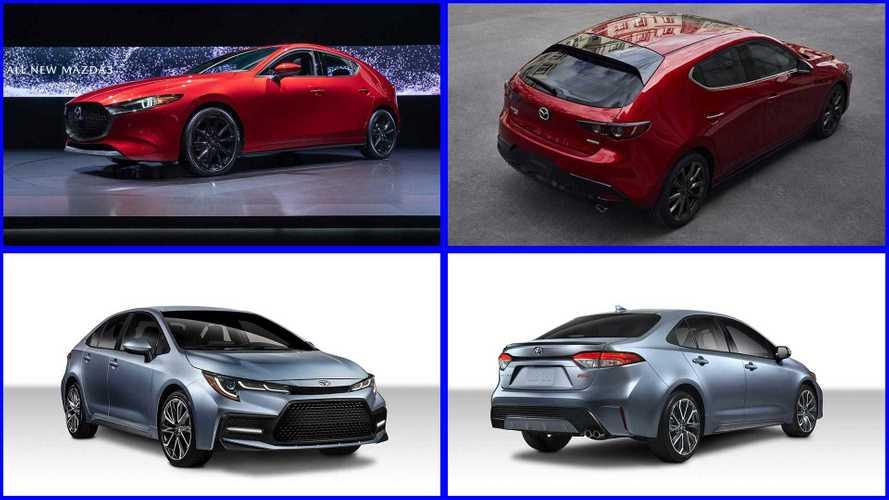 2020 Toyota Corolla Versus 2019 Mazda Mazda3: How Do They Compare