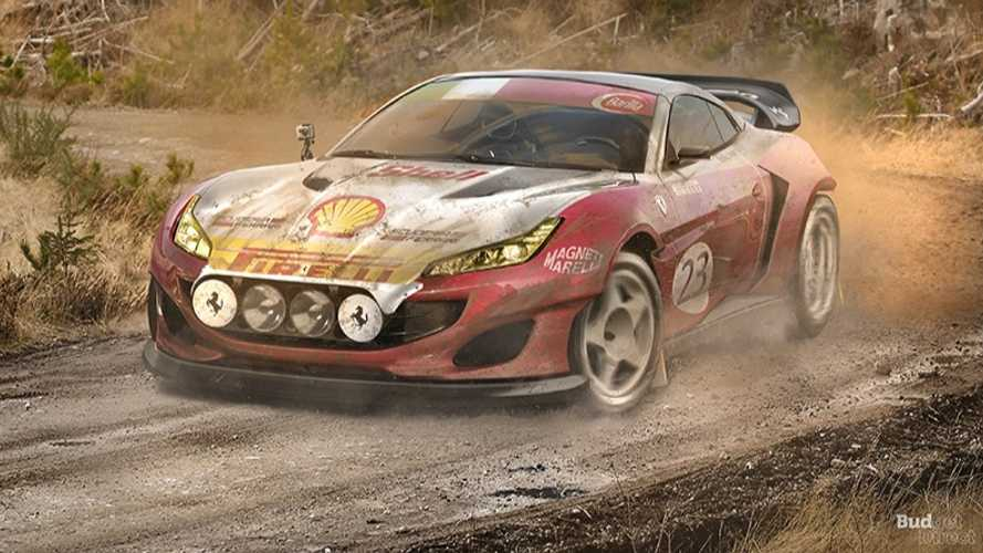 Seven supercars (and a super dud) rendered as unlikely rally cars