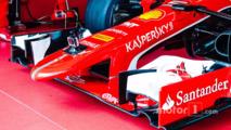 Ferrari SF15-T nose detail