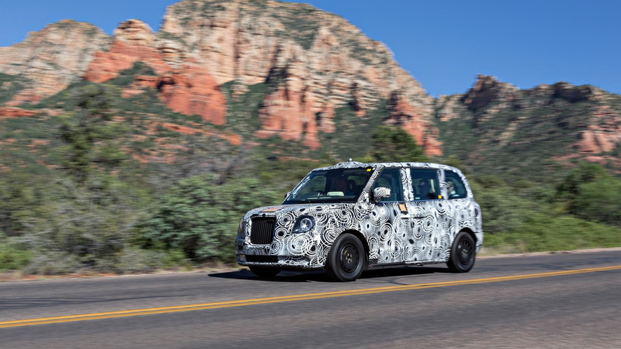 New London Cab Being Tested In The US Desert