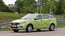 Lada Vesta Wagon spy photo