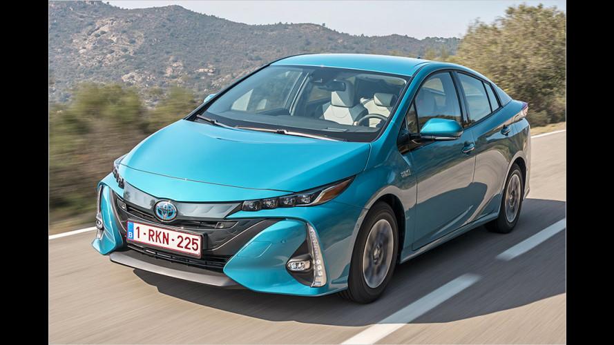 Toyota Prius Plug-in Hybrid (2017) im Test