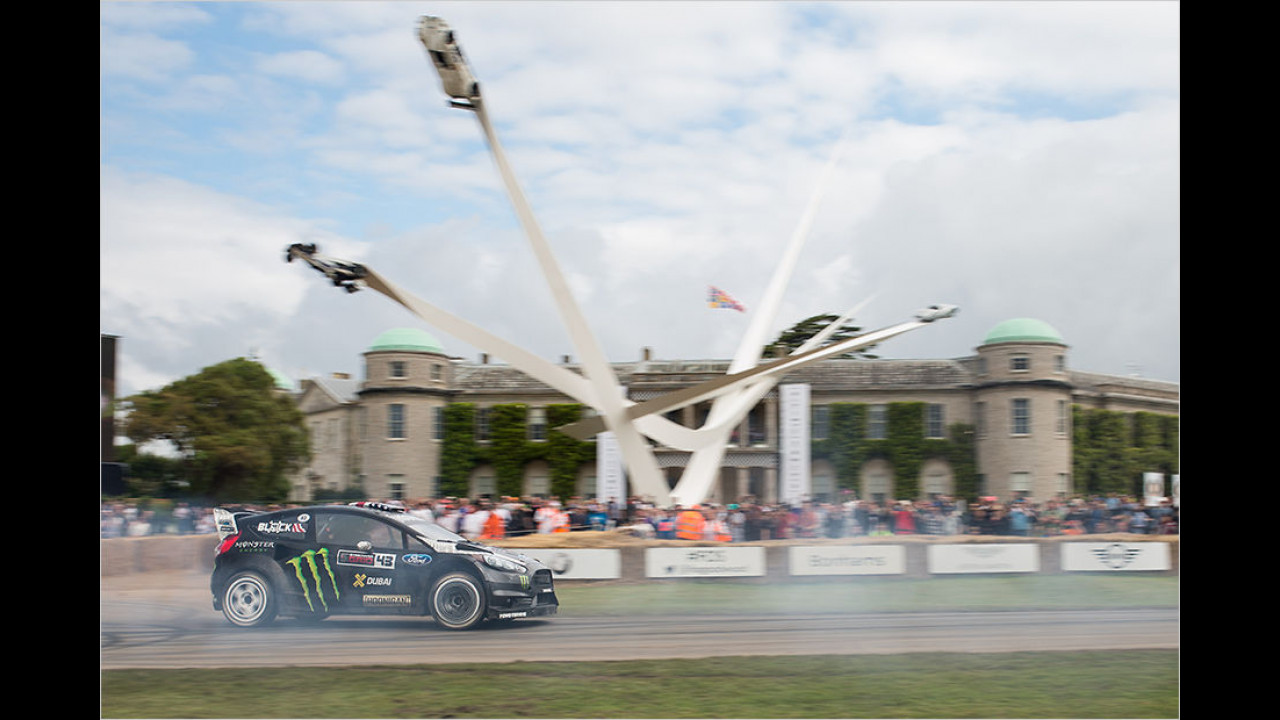Ken Block über das Goodwood Festival of Speed ...
