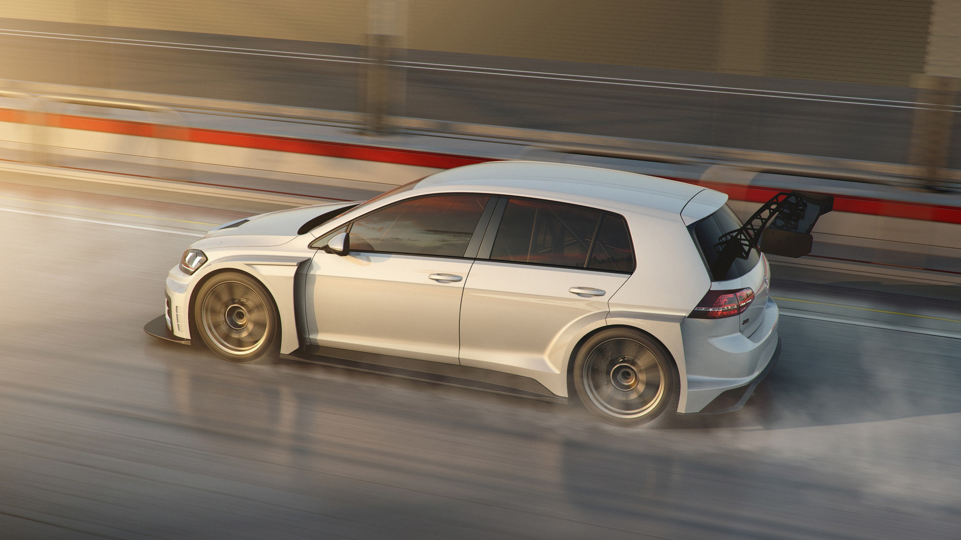 VW Golf GTI TCR Upgraded And Ready To Race