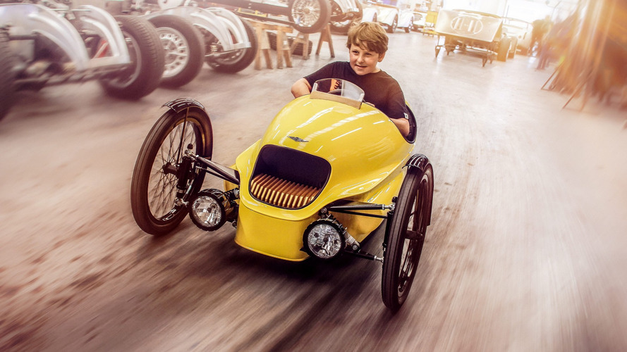 Brinquedo caro, Morgan EV3 Junior se destaca pela produção artesanal