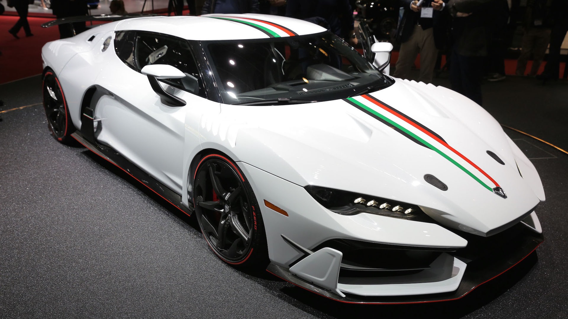 Watch The Italdesign Zerouno Be Born In Behind,The,Scenes Video