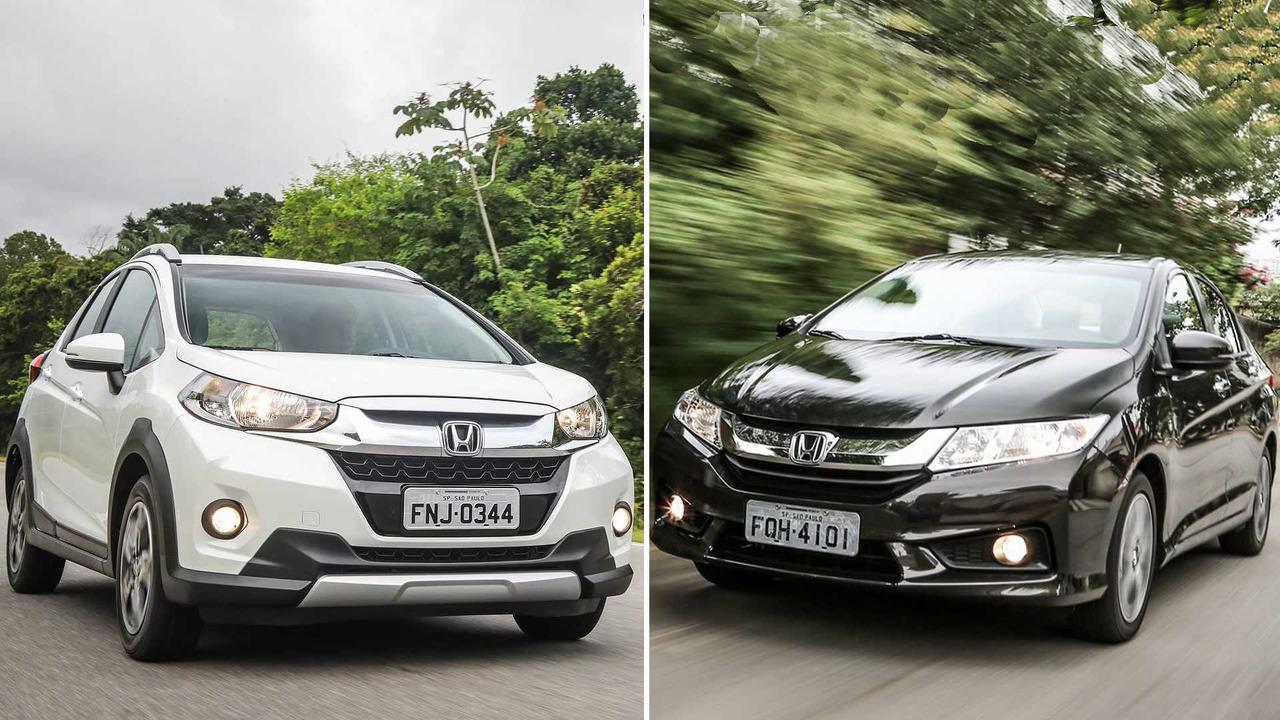 Honda City ou WR-V