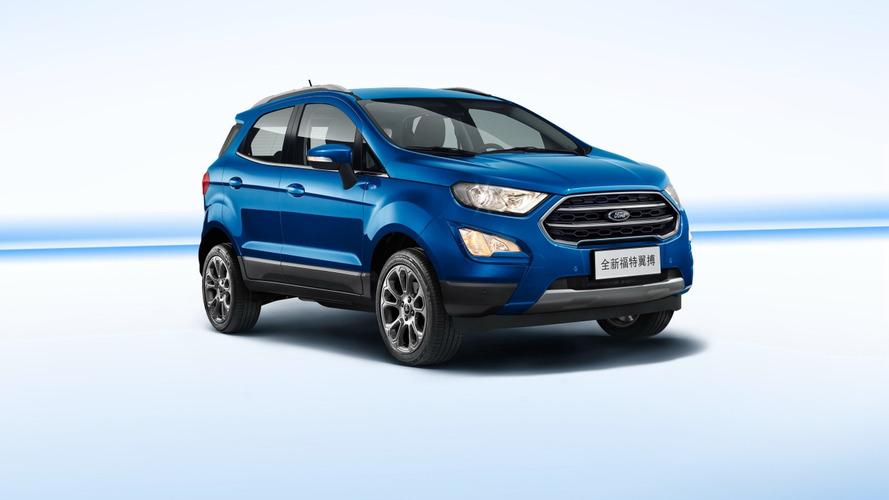 Novo Ford EcoSport perde Powershift na China e antecipa modelo brasileiro
