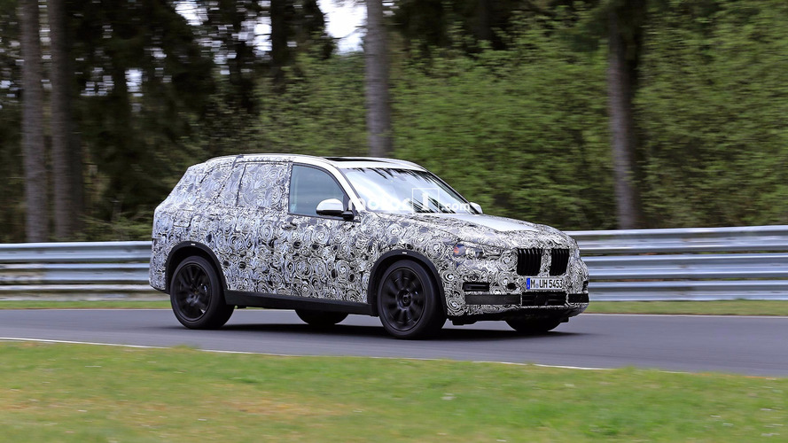 Next-Gen BMW X5 Test Mule Spied Back On Track