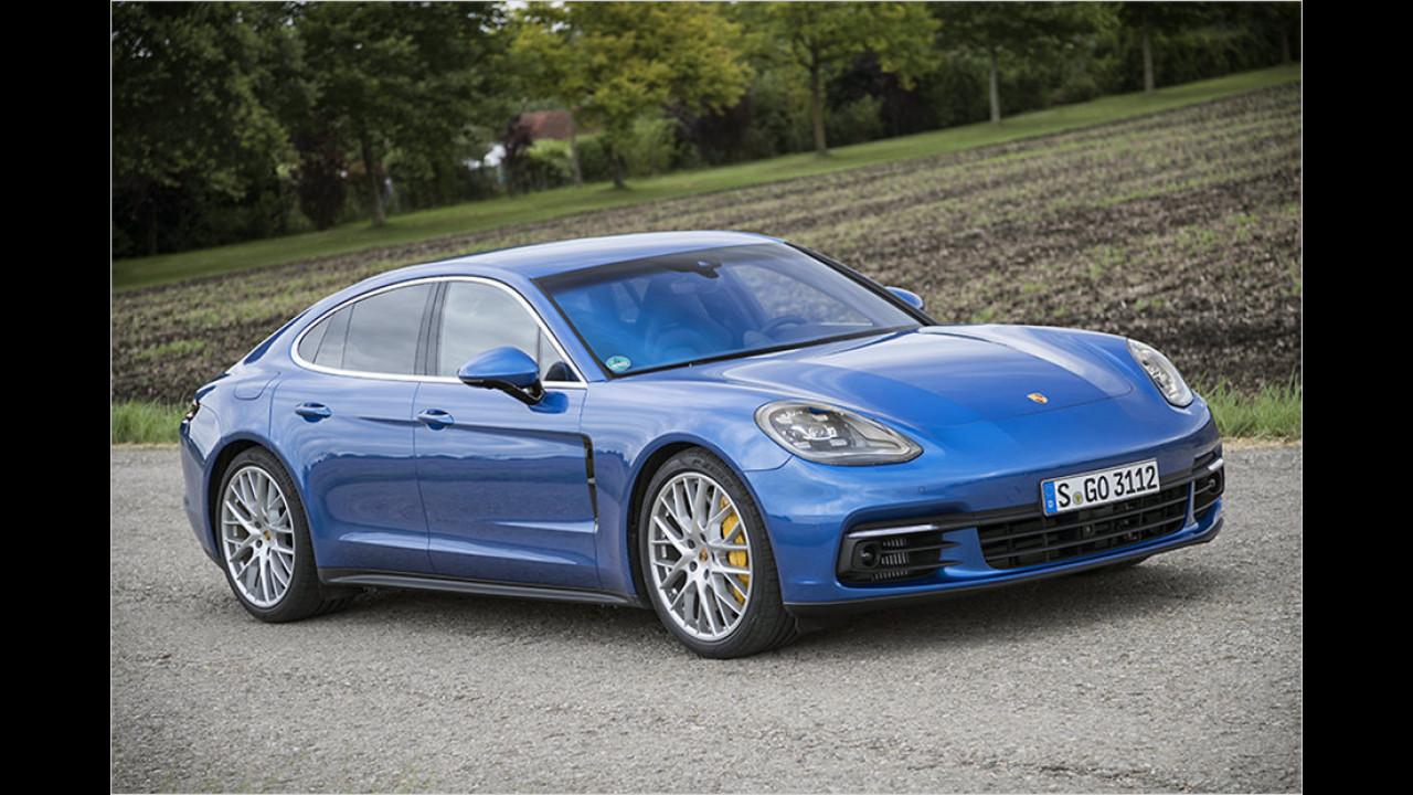 Platz 5: Der Porsche Panamera 4S mit 440 PS