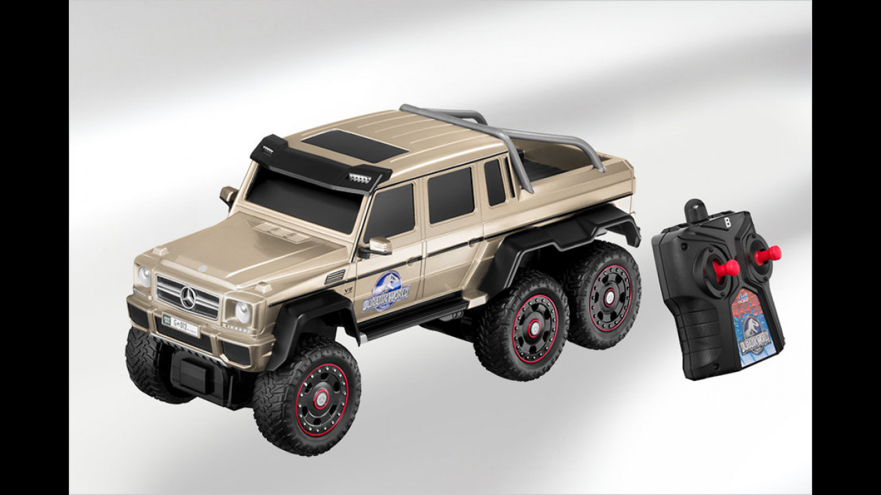 Mercedes G 63 AMG 6x6 Jurassic World RC