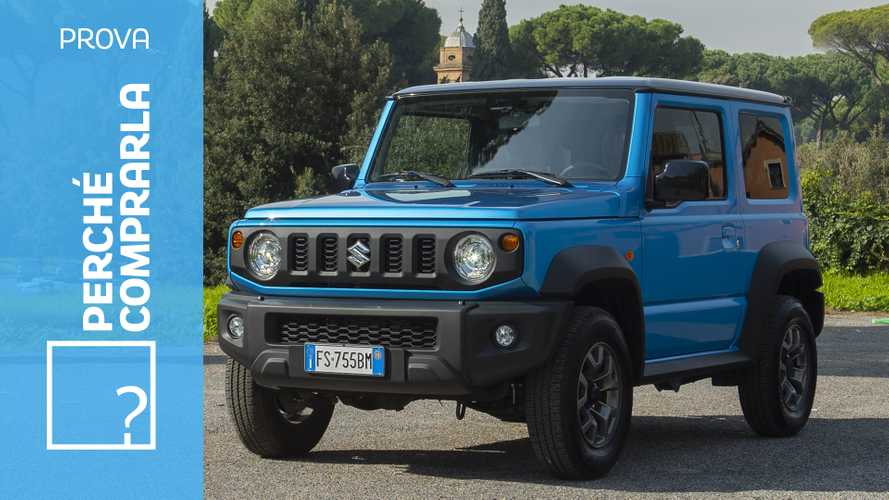 Suzuki Jimny, perché comprarla... e perché no