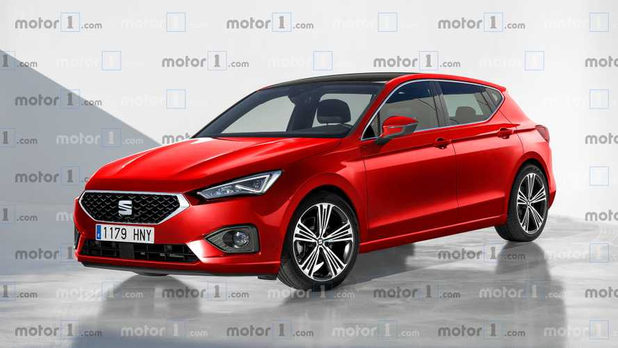 2020 SEAT Leon rendering looks into the future