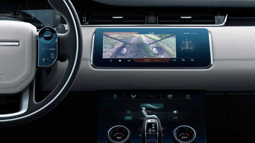 Nuova Range Rover Evoque, fra giochi di telecamere e specchi
