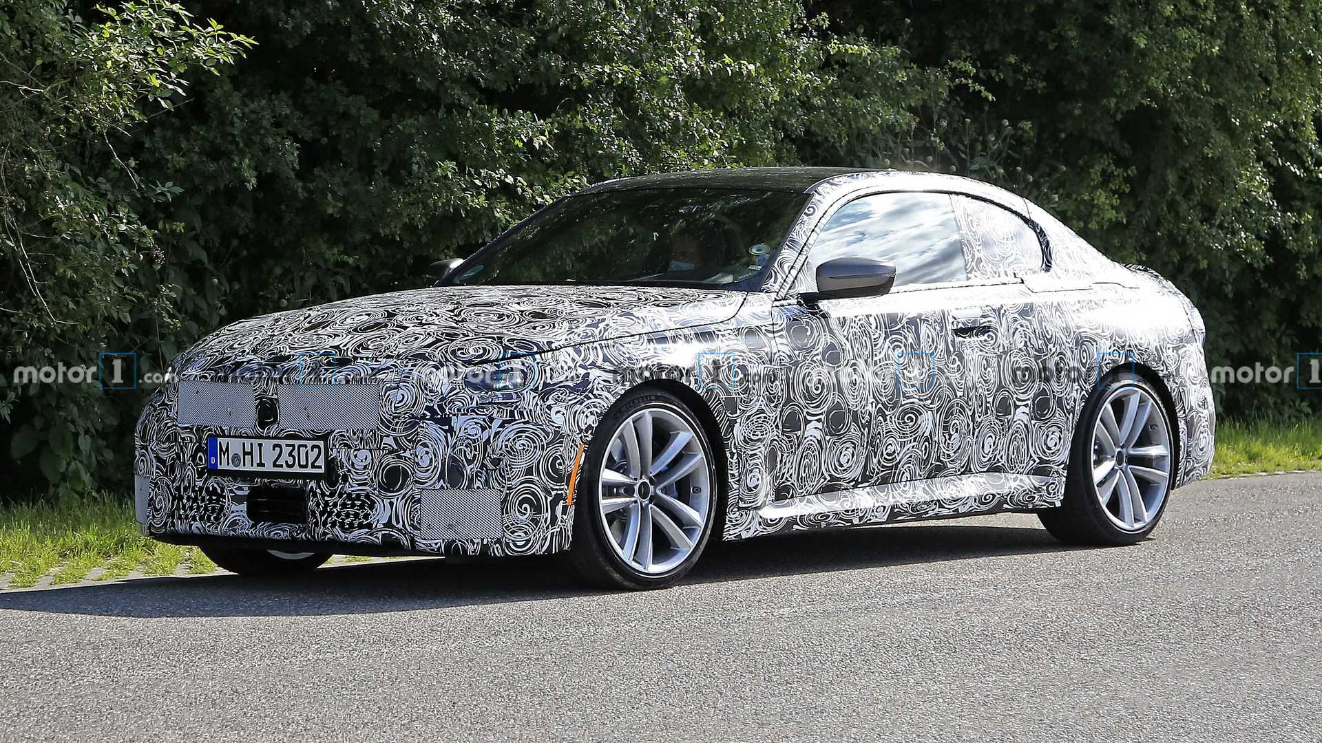 2022 - [BMW] Série 2 / M2 Coupé [G42] - Page 4 2022-bmw-2-series-coupe-spied-possibly-in-us-configuration