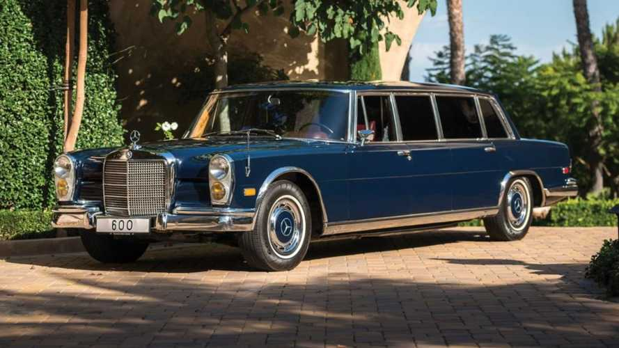 Rule the road with an iron fist via this Mercedes Pullman