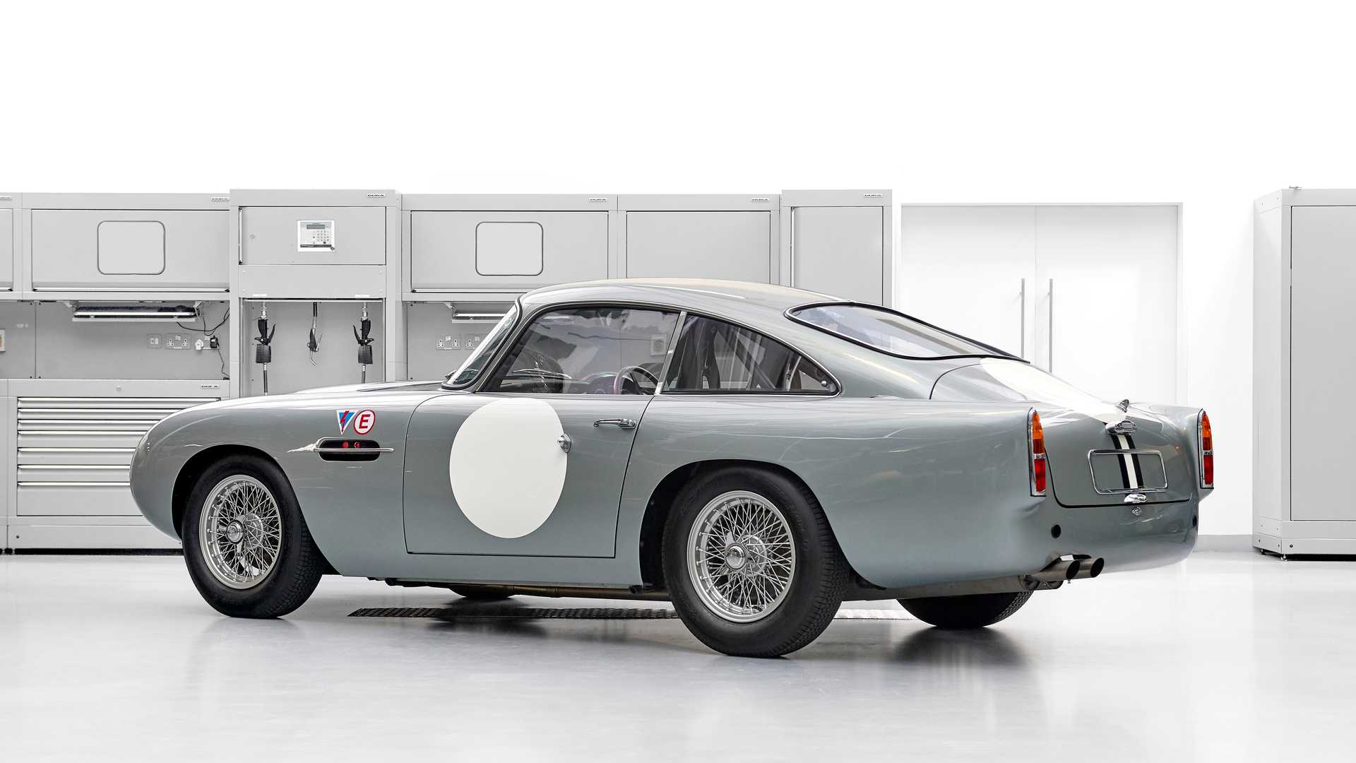 One Of Aston Martin S Sold Out Db4 Gt Continuations Is Up For Grabs