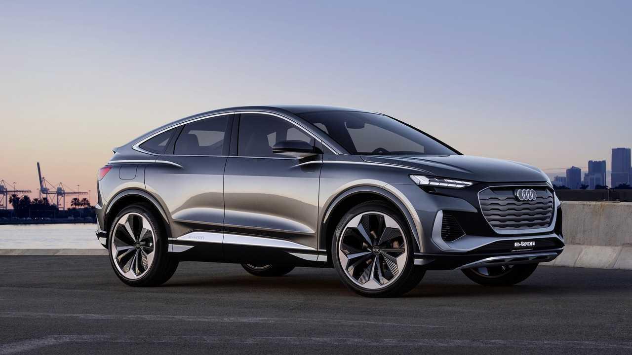 Audi Q4 Sportback E-Tron Concept 2021